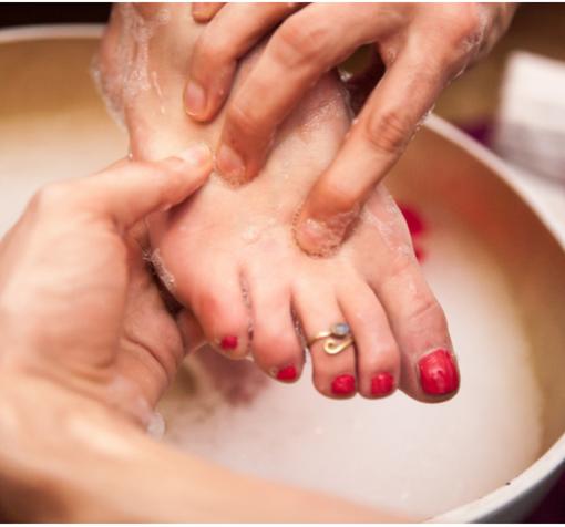Fod og hånd massage