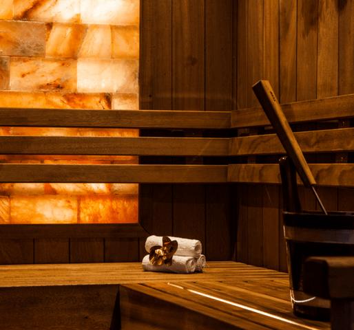 Dronningebhandlingen sauna