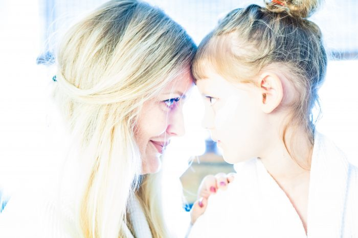 Mor og datter oplevelse