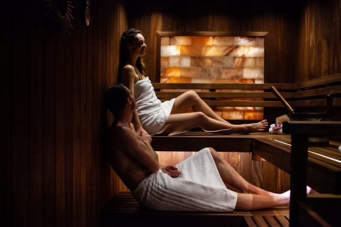 tropehygge sauna lille boks